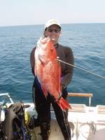 Candy_s_first_Red_Snapper_of_09.JPG