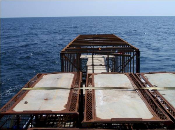 Artificial Reef At Deployment Location